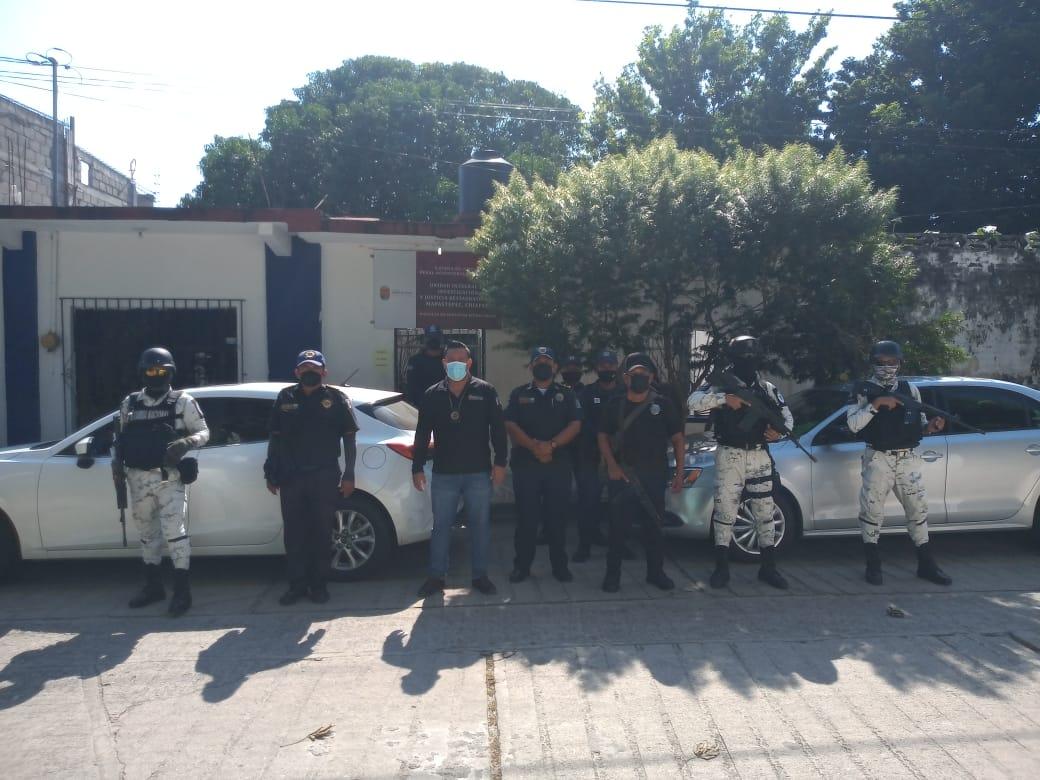 En coordinación con la @GN_MEXICO_ y @SSyPC_Chiapas,  llevamos a cabo el