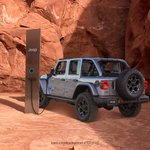 Image for the Tweet beginning: The new rechargeable Jeep® Wrangler