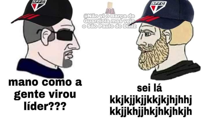Replying to @somosaopaulinos: Não sei kkkkkkk  {Não vi o Barça de Guardiola mas vejo o São Paulo do Diniz}