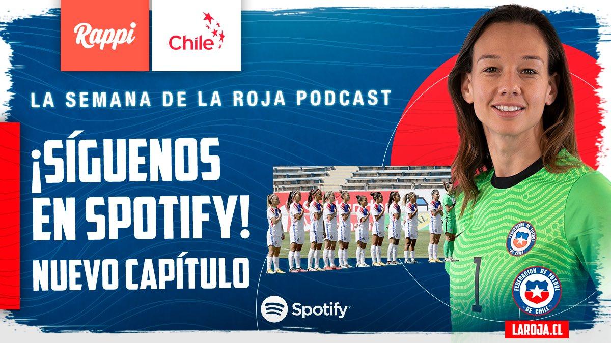 REVISA AQUÍ: 👉🏻  🇨🇱   Un nuevo podcast de #LaRoja capítulo 8. 😍 Atentos ¡Se vienen muchas sorpresas para nuestros seguidores en Spotify! 🎁