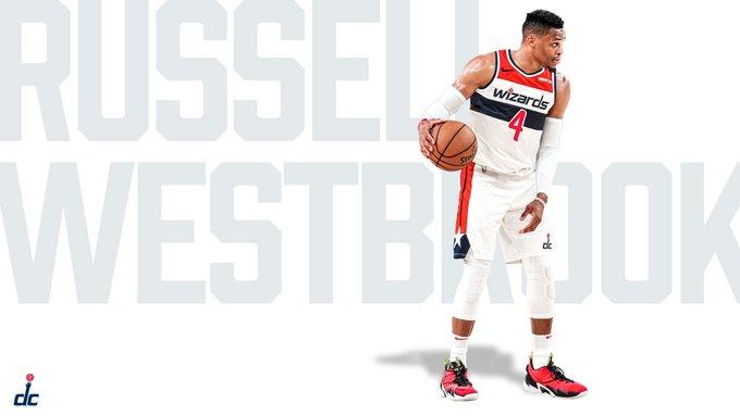 再見了0號威少!巫師官宣Westbrook新賽季的球衣號碼,將改穿4號開啟新征程!