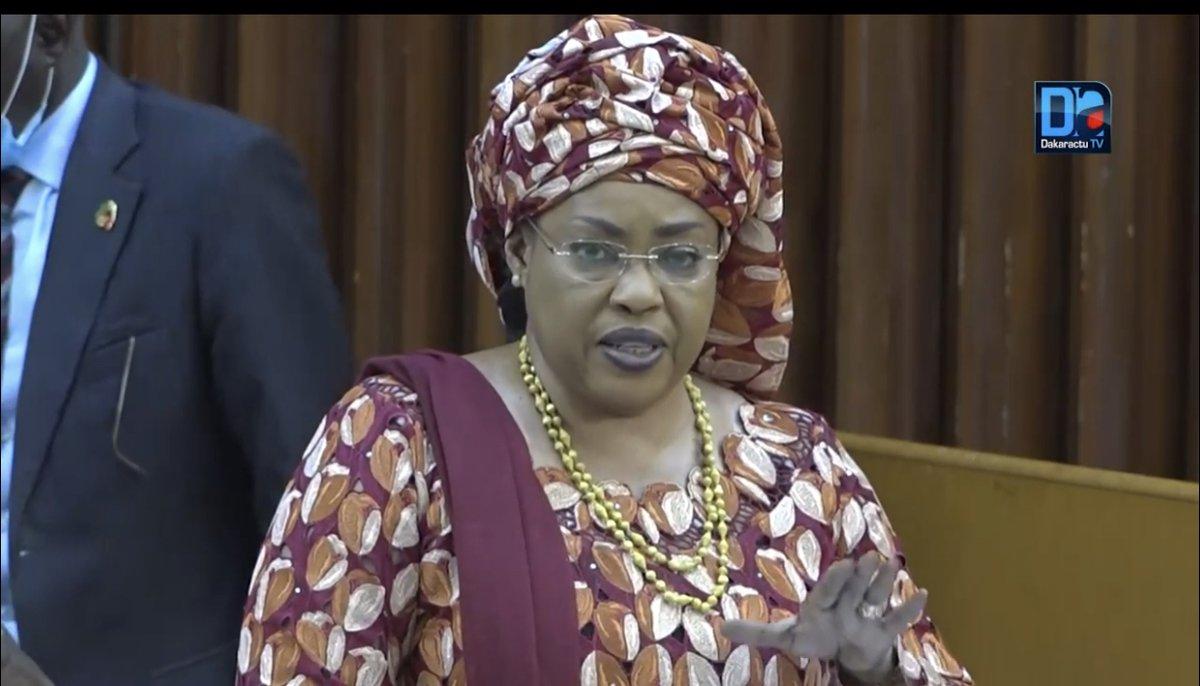 Assemblée Nationale : Ndèye Saly Diop Dieng décline devant les parlementaires, ses 4 challenges pour l'année 2021...: Les femmes ont été à l'honneur ce matin lors du vote du budget du ministère de la femme, de la famille, du genre et de la protection des… https://t.co/9NJTE4pnry https://t.co/DST3h3J4y6