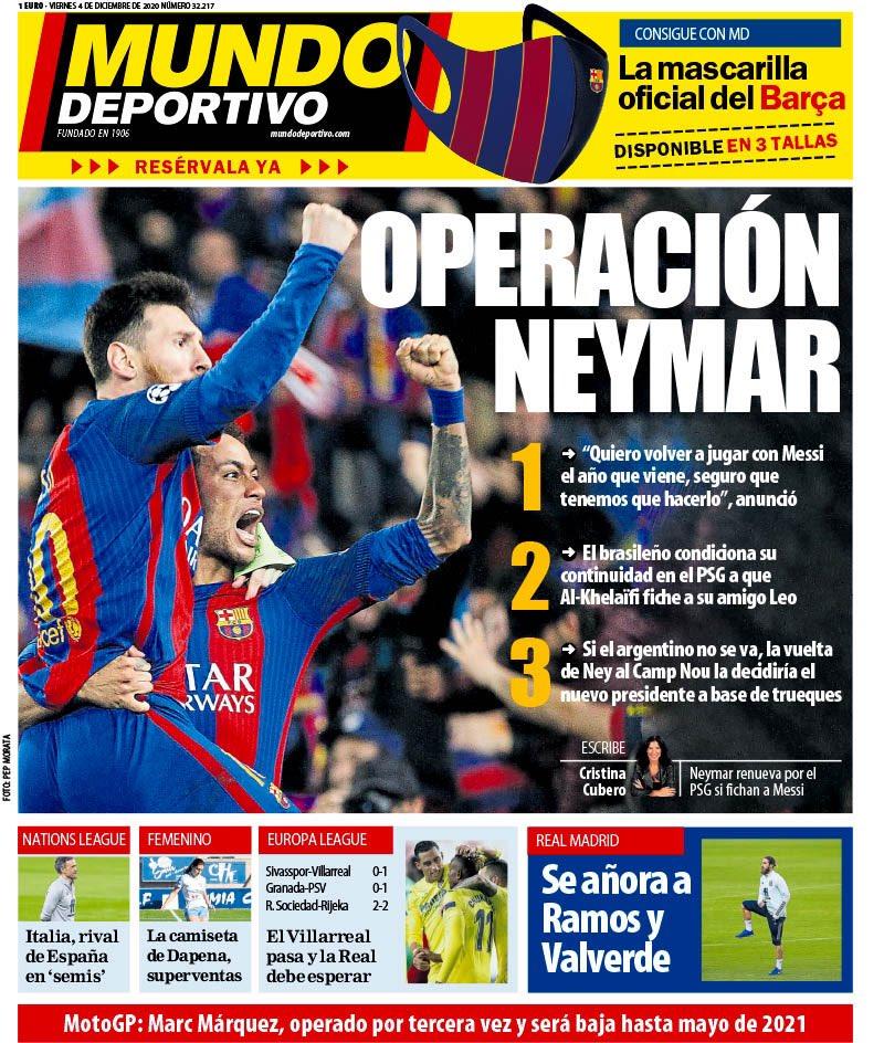 Le prime pagine #MundoDeportivo #Sport