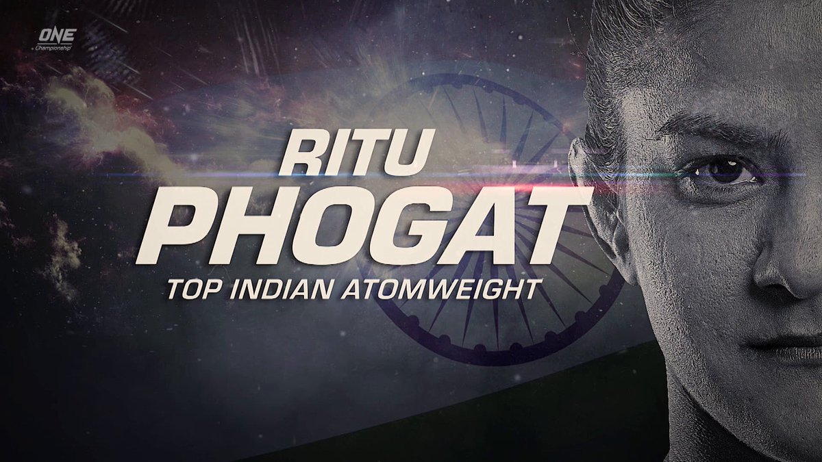 The 'Indian tigress' is all set to pack a punch in her Big Bang bout! 💪   Watch @PhogatRitu in LIVE #ONEChampionship action: 4th Dec, 6PM onwards | Star Sports Select 1/ 1 HD, Disney+Hostar