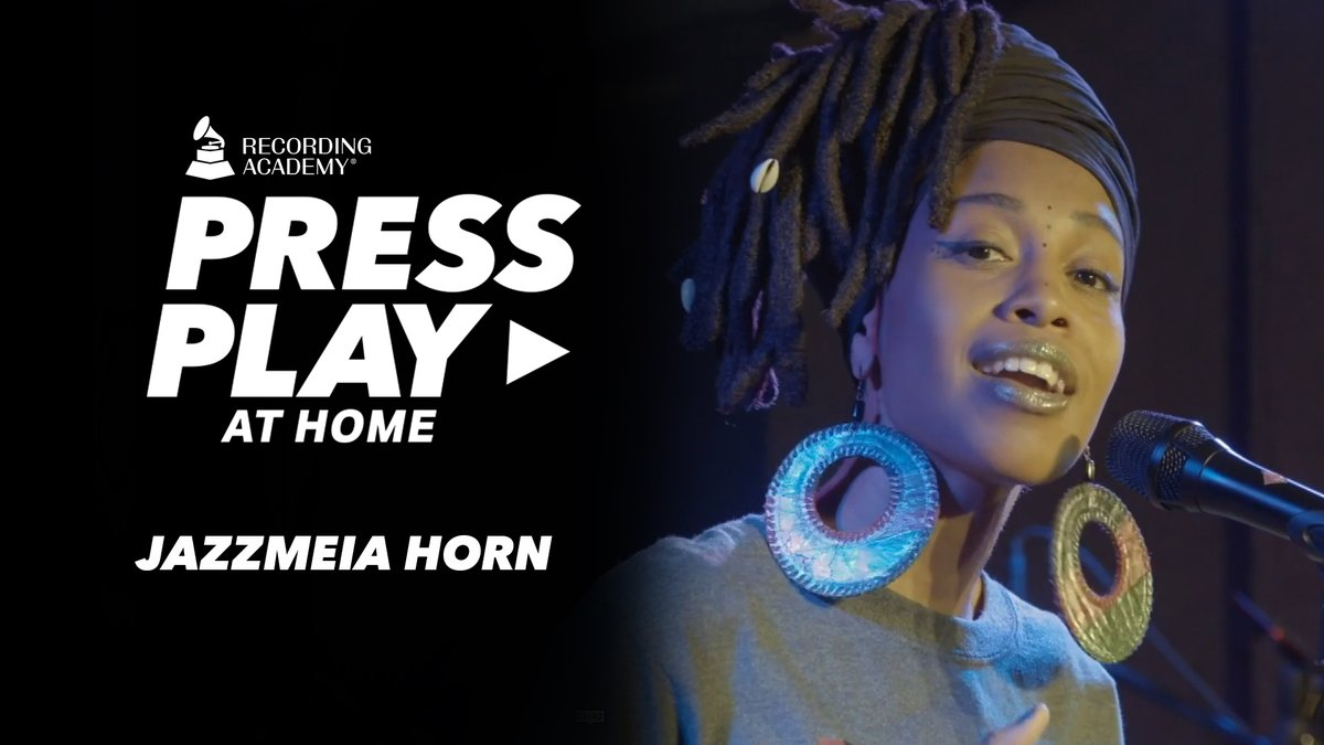 #PressPlay on @MsJazzHorn and let the soothing piano instrumentals and her inspirational words get you through the rest of the week:  🎹