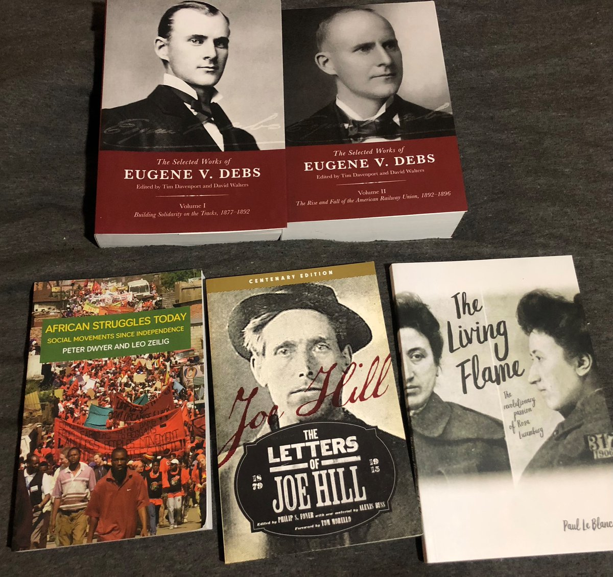 stress/depression-purchases during the @haymarketbooks 40% off sale a few weeks ago guess I'll be reading some debs in 2021