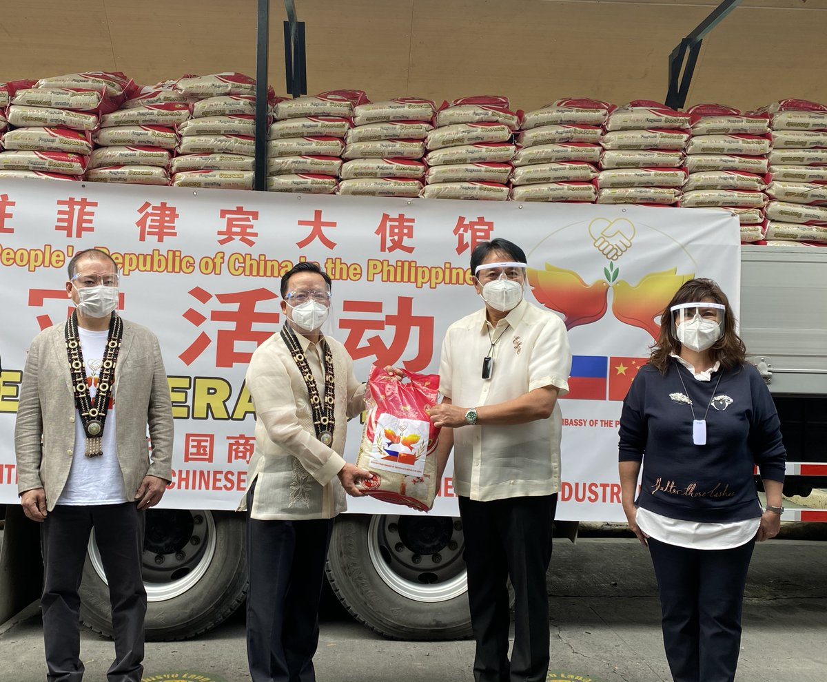 Chinese Ambassador to the #Philippines Huang Xilian handed over relief supplies to the victims of #TyphoonVamco on Thursday. The donation is part of the latest relief assistance of 3 million yuan (around $457,861) provided by the Chinese government to the Philippines.