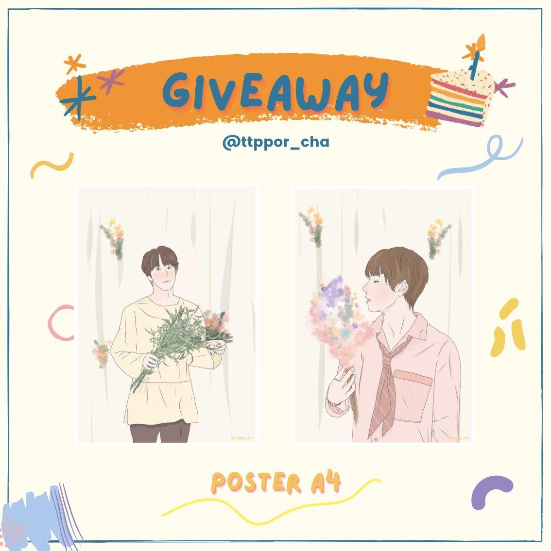 *・῾ ꒰ ᵎ യ  Plz rt  ₊˚ˑ ꒱  Give away Jin&Taehyung Day ˚ ༘   Poster A4 100 ea  🗓 : 05.12.20  📍 : siam   Ps.เราไม่ว่างไปฝากน้องแอค @park13oct ไปแจกนะงับ  รอบไปรใต้เธรดนะคะ  สุ่มส่งฟรีจากรี 2 คนนะงับ  #HappyBirthdayJin  #HAPPYJINDAY  #HappyTaehyungDay  #HappyBirthdayTaehyung