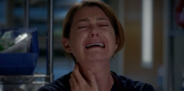I thought it might be George but I wasn't prepared for Meredith to actually see George #GreysAnatomy
