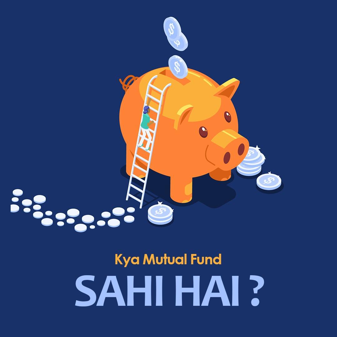 Mutual Fund to Sahi hai? But kya aap ke liye? Mutual fund may be Sahi hai – but not for every category, not for every purpose and not for everyone for every time and type of investments. Read more:   #mutualfunds  #mutualfundssahihai #arthasarathi