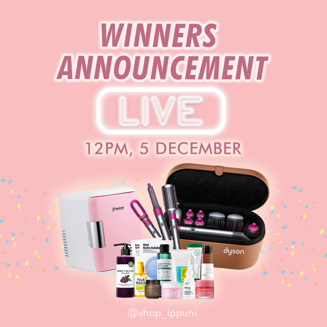 Catch us LIVE tomorrow on Instagram, 12PM 📢📢  Who will win the Dyson Airwrap Set + RM1,111 worth of skincare products? Stay tuned! 😍 https://t.co/lJHbGIJ8UD