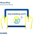 Image for the Tweet beginning: The Heidelberg eShop takes you