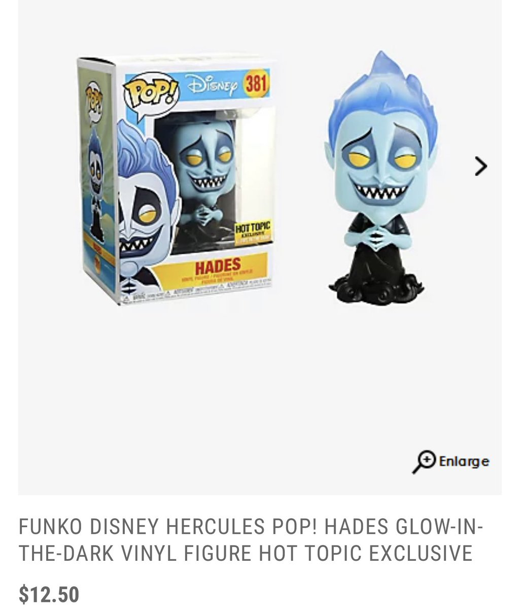 Hot Topic exclusive Hades is available on presale! Ships in April. .