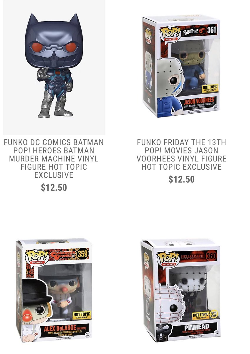 More Hot Topic exclusives are available for presale! .