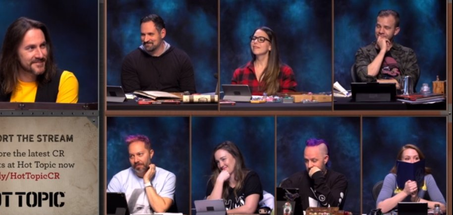 I feel like we are all @Marisha_Ray right now. <3 #CriticalRole #CriticalRoleSpoilers #Critters #dnd