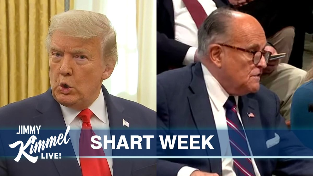 Trump & Giuliani's falsehoods, fraud & farts… #ShartWeek