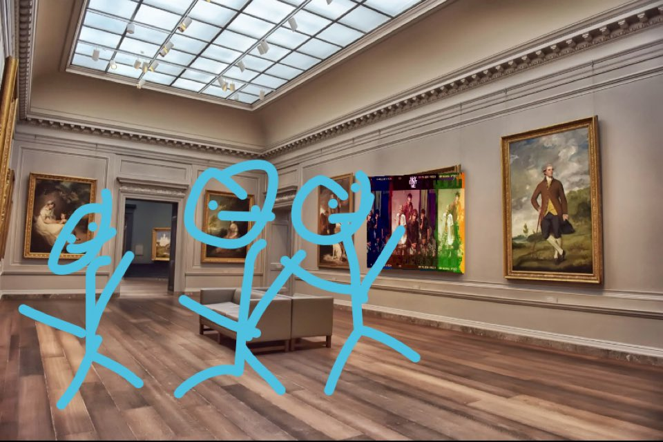 since people were rude and didn't want to view this piece of art i had to improvise but, it is exactly where it belongs because it is a literal masterpiece. #lotusinngrandopening @ImZachHerron @JonahMarais @corbynbesson @whydontwemusic @SeaveyDaniel @jackaverymusic