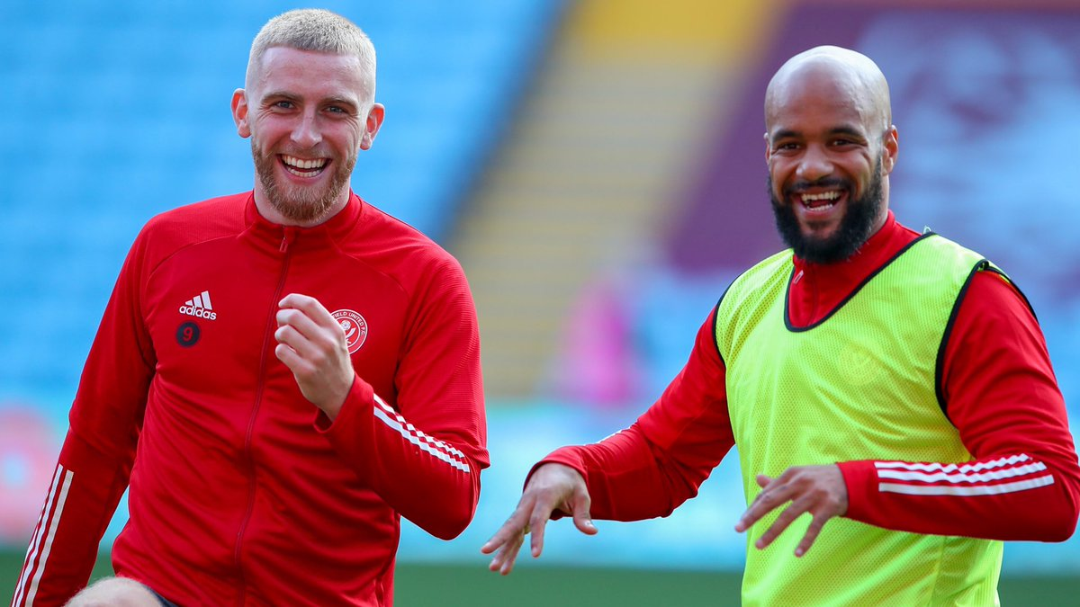 """""""Both boxes. Most aerial duals won. He puts himself about, links play up. He's a valuable member of our team.  He definitely belongs at this level. He's going to score and get on a run no doubt about it. He's a great striker.""""  Didz on McBurnie. 💪"""