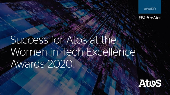 🏅 #WomenInTechExcellence awards Atos with '#Diversity & #Inclusion Initiative of the...