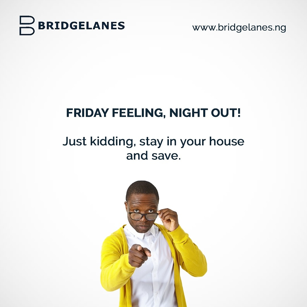We know Fridays are for flexing. But for your financial health, we prescribe that you stay at home. You can chop life on a budget while you stay indoors. Chop life but don't chop tomorrow.  #savewithbridgelanes #bridgelanes #GreysAnatomy #choplife #FridayFeeling #flex