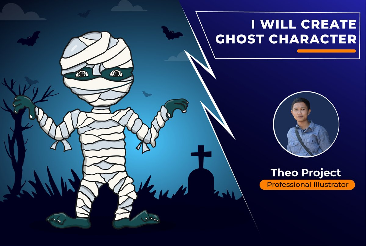 Are you looking for a UNIQUE and ORIGINAL Ghost Character design? You find the correct person!  So, what you're waiting for?! Place your order now!   https://t.co/QvBos5tCxo  #character #vector #mascot #icon #dark #halloween #ghost #unique #cute #perfect https://t.co/n0VoI2QQeY