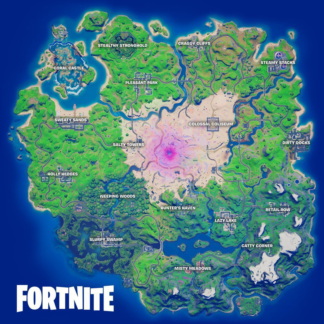 So... what is everyone thinking of this seasons new map so far?? I currently love the fact that it kinda goes back to OG days of fortnite! 😁#FortniteSeason5 #FortniteZeroPoint #Fortnite #fishgang