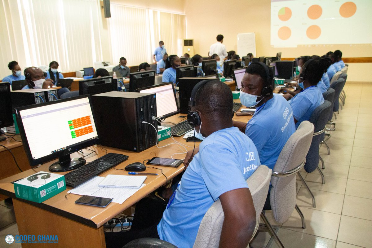 The Coalition of Domestic Election Observers (CODEO), under the auspices of @CDDGha, has opened its National Information Center (NIC) for Ghana's December 7 elections. #CODEOElections #Election2020 https://t.co/ZEA3bcMu3G