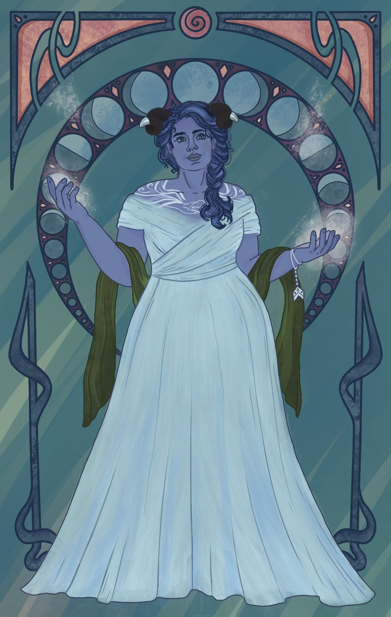 High Priestess of the Traveler Jester Lavorre #CriticalRole #criticalrolefanart #jesterlavorre