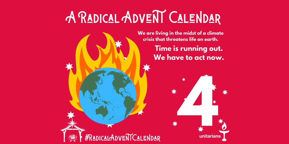 For the sake of our children and grandchildren, we have to act now #RadicalAdventCalendar #ClimateCrisis #ActNow 🌏❤️✊