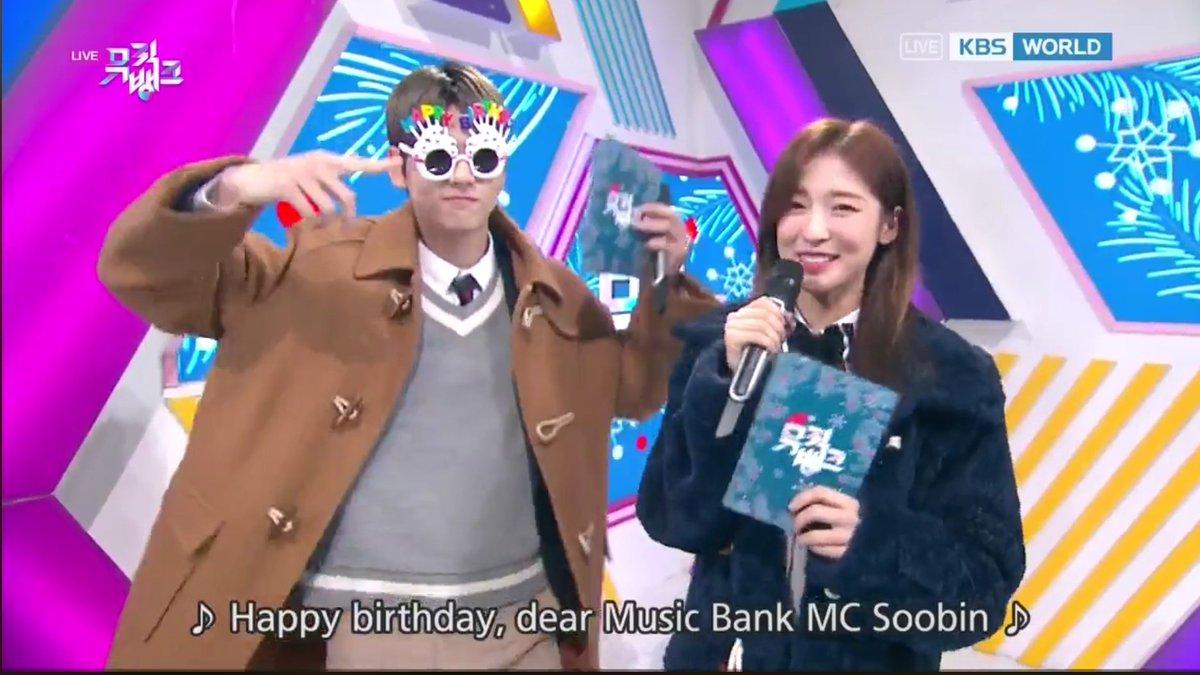 MC Soobin advance birthday celebration~🎉  #FridayWithMCSoobin @TXT_members @TXT_bighit