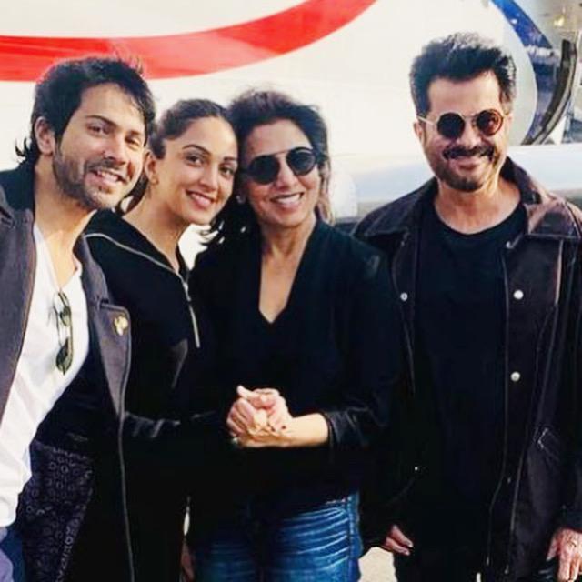 #Bollywood | Varun Dhawan, Neetu Kapoor, Anil Kapoor and Director Raj Mehta test positive for #COVID19 amid #JugJuggJeeyo shoot.