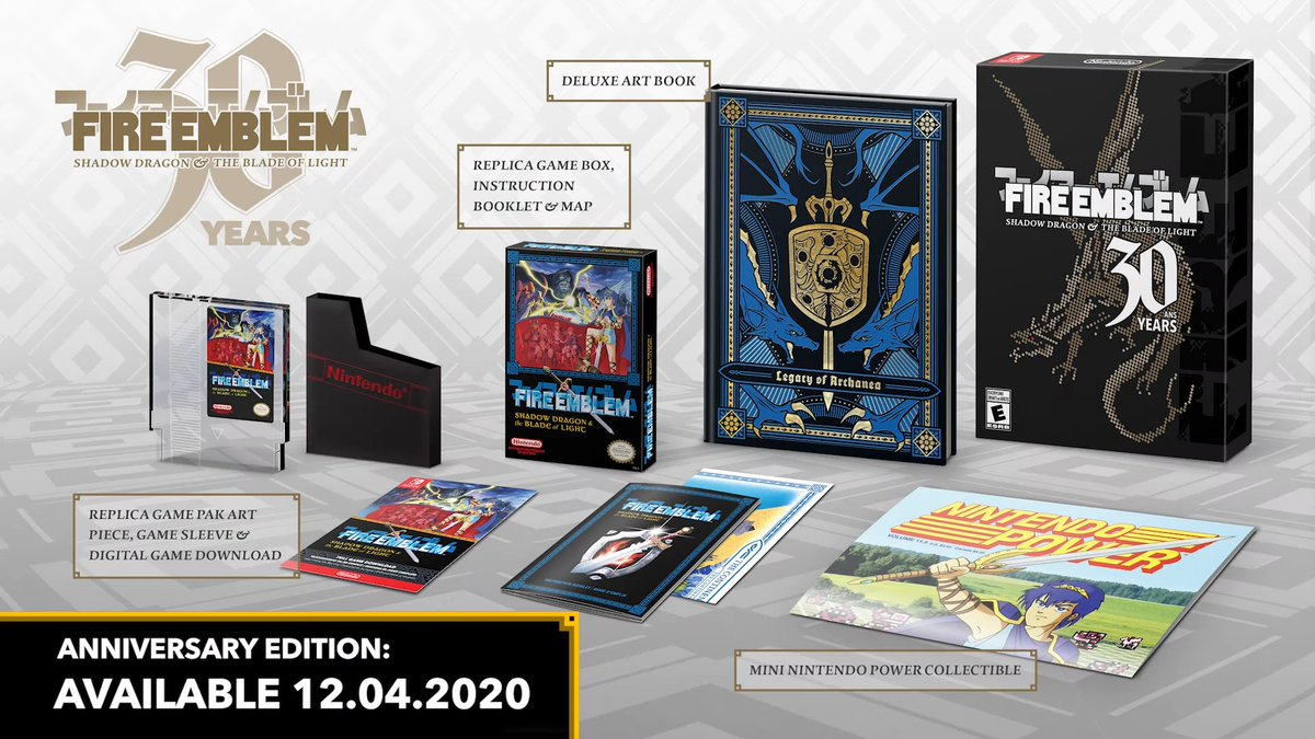 Fire Emblem 30th Anniversary Edition is available at Walmart ($49.98) 2