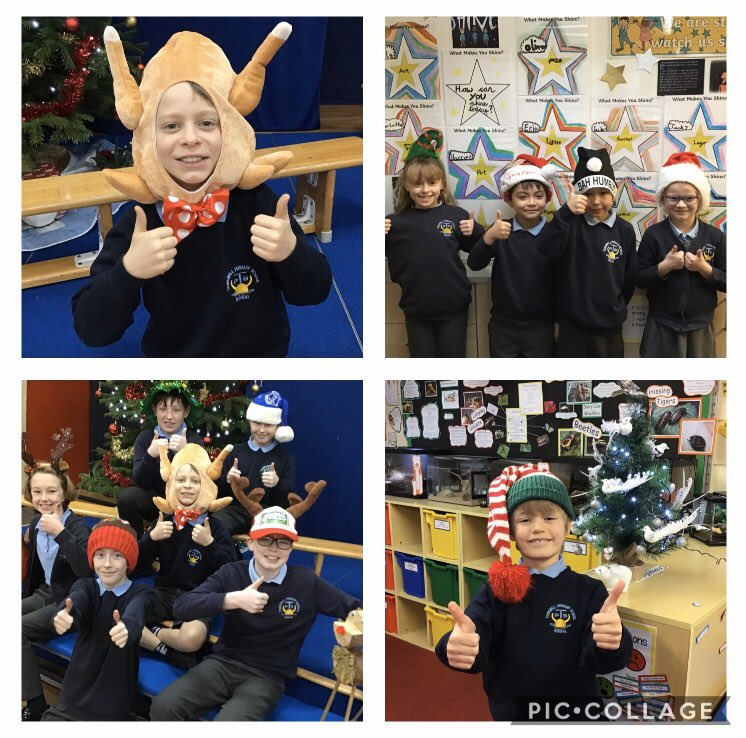 Replying to @thingwallprima1: @ClaireHouse #ChristmasHatDay at Thingwall Primary...