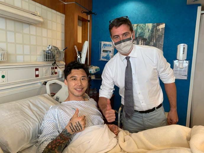 Chinese Guangzhou Evergrande FC, defender Zhang Linpeng did a surgery on his right ankle at Aspetar after he was injured during Asian Champions League game.  #ACL2020