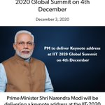 Image for the Tweet beginning: PM to deliver Keynote address