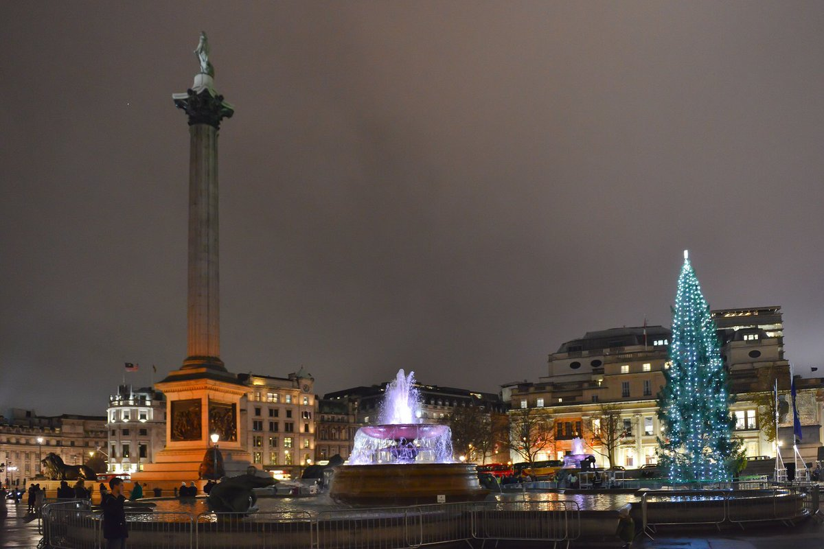 """test Twitter Media - """"Bluey-green, the spruce of Norway Lit to make our spirits glow, Come to London Town this winter From the forest deep in snow.""""  Kit Wright wrote our first poem for Trafalgar Square, which includes thoughts shared by London schoolchildren  https://t.co/nLA6xyYsNR https://t.co/5W1BF4gCGW"""