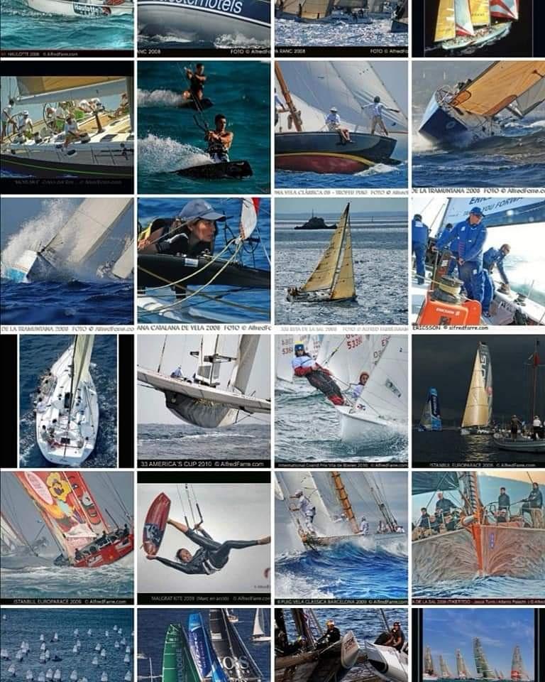 Recordando antiguos Reportajes Fotográficos 2 Fotos: 📸 © @alfredfarre #yachtracing #sea #watersports #blue #nauticalsports #tokio2020 #olympics #mirabaudyachtracingimage #professional #professionalphotography #thebest #sailingyachtracing #olympicsgames