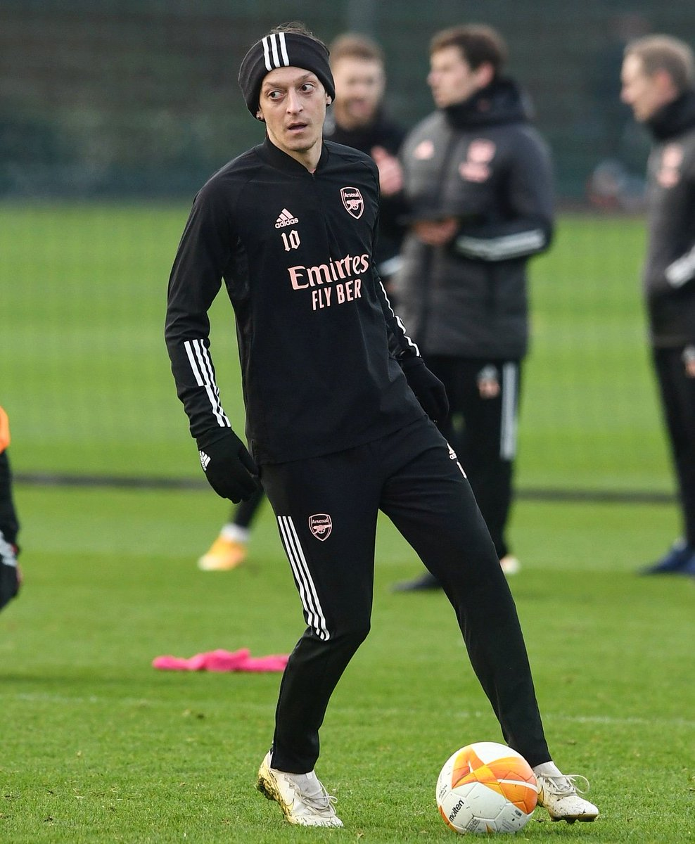Focus, patience & resilience 💯💪🏼🦁🙏🏼⚽ #COYG #M1Ö #YaGunnersYa @Arsenal