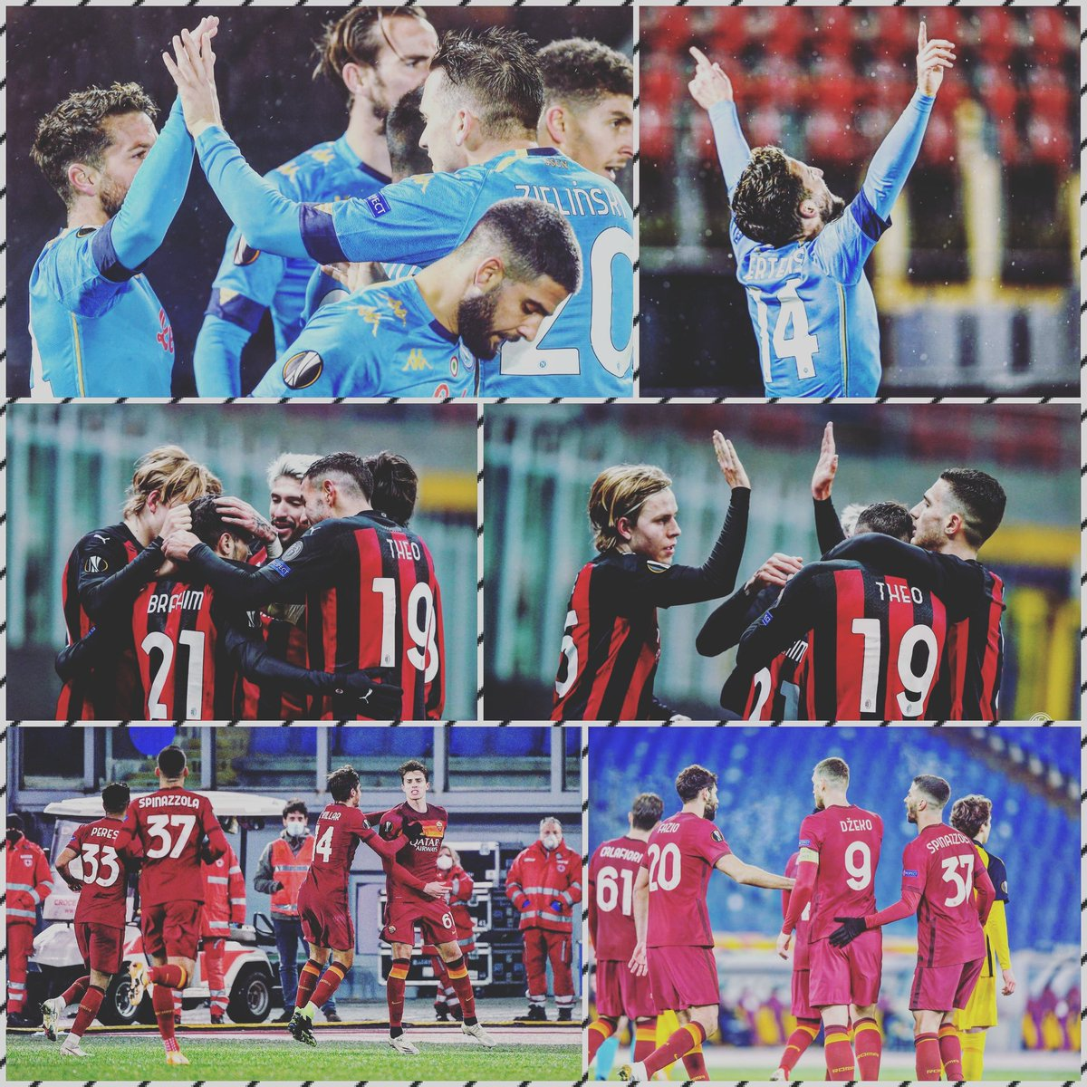 Resultados en Europa League.  Súper Milan! Voltereta al Celtic!! 4-2.  Victoria de la Roma y liderato en su grupo, 3-1 al Young Boys.  Empate del Napoli 1-1 en su visita al AZ Alkmaar.  Jornada positiva. 🇮🇹🏟🏆💥😎  #UEL #Calcio #Italia #Futbol  #MilanCeltic #RomaYB #AZNapoli