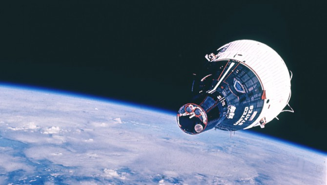 On this day, 55 years ago, Gemini VII launched carrying Commander Frank Borman and Pilot Jim Lovell.  Gemini V11 successfully spent two weeks in orbit, the longest-duration flight at that time. #onthisday #staycurious Image: NASA
