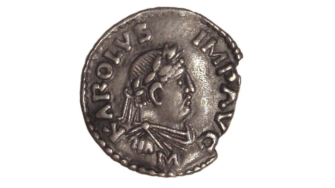 Carloman I died #OnThisDay in AD 771, leaving his brother Charlemagne king of the entire Kingdom of the Franks.   His impact was so massive that just his minting of coins would leave pollution in the ice of glaciers in 🇨🇭, revealed research in 🅰 (🆓) .