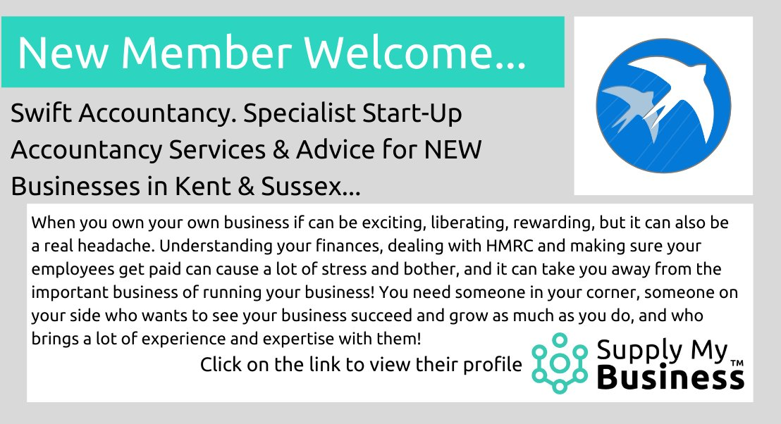test Twitter Media - Welcome to our #Business #Community Member Swift Accountancy - NEW #Startup #Accountancy advice & expertise for #Businesses in #Kent & #Sussex;  https://t.co/SJWzHsK1D3 https://t.co/eMxEQA7v0g