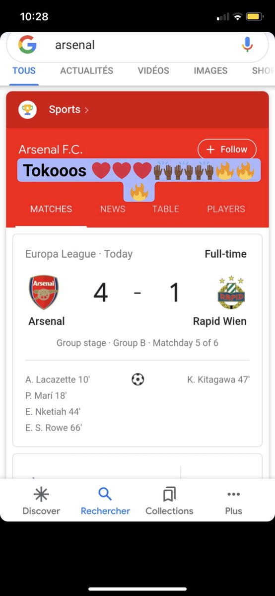 What this rant did for @Arsenal #arswol #arsenal