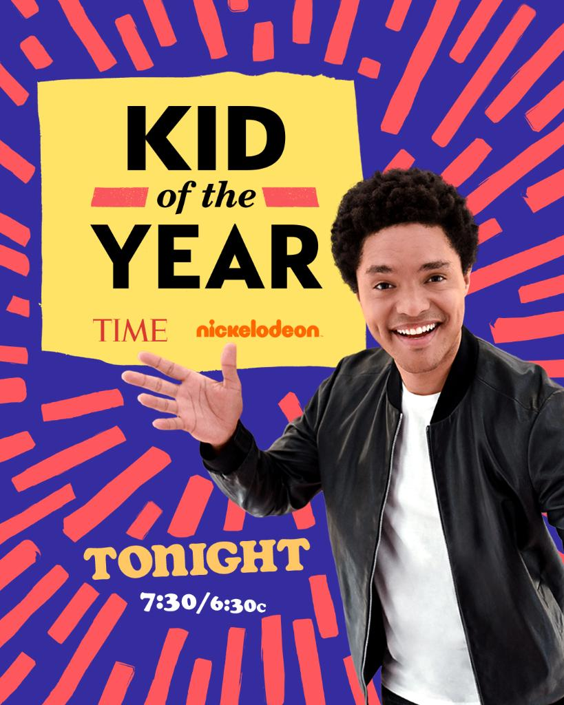 Tonight's the night! How many awesome kids can you learn about in an hour? Follow @Nickelodeon and @TIMEforKids (that's us!) right here on Twitter to find out. Get in friends—we're celebrating super duper amazing kids at 7:30pm ET on Nickelodeon. ✨ 😁 🙌 💥