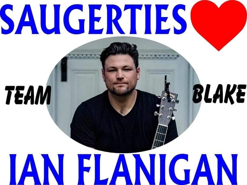 Hey @blakeshelton our town is so proud of @IanFlanigan!!  #TeamBlake #TheVoice