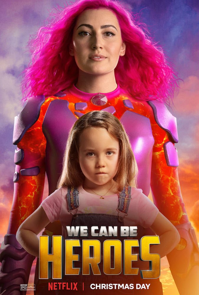 From the creator of Spy Kids and The Adventures of Sharkboy and Lavagirl comes We Can Be Heroes — a new movie starring Pedro Pascal, Priyanka Chopra Jonas, Christian Slater, Taylor Dooley, and many more.