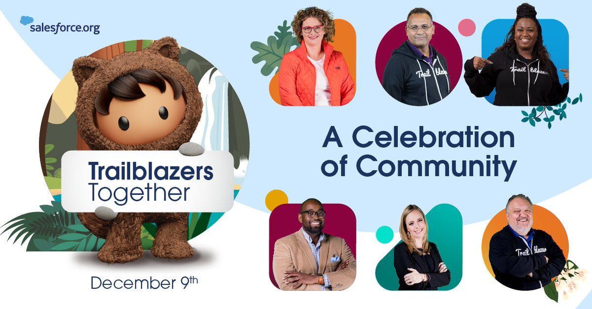 You are our community and this invite is for you.  Since we can't get together in-person, we're excited to gather at our virtual community celebration, #TrailblazersTogether! Amazing speakers, networking, and more.  Register to join us on December 9th ➡️