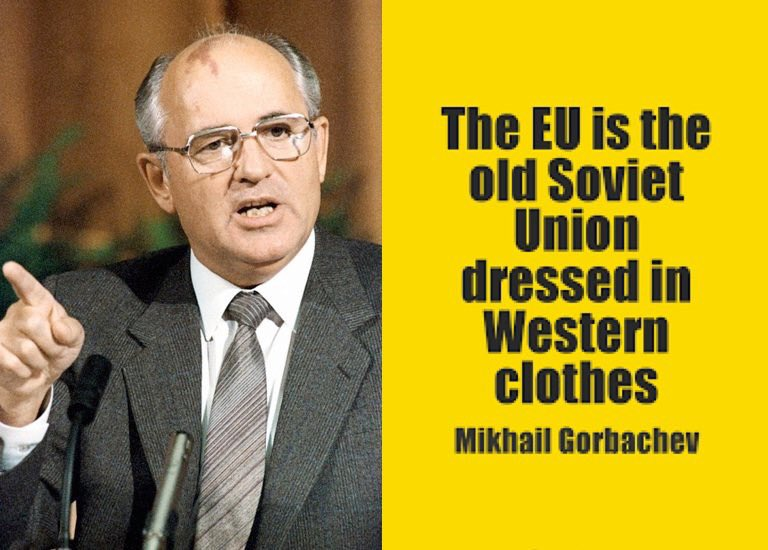 @FinancialTimes The #EU is the old Soviet Union dressed in Western clothes. @mgorbachev https://t.co/Ep6NsKUtfy