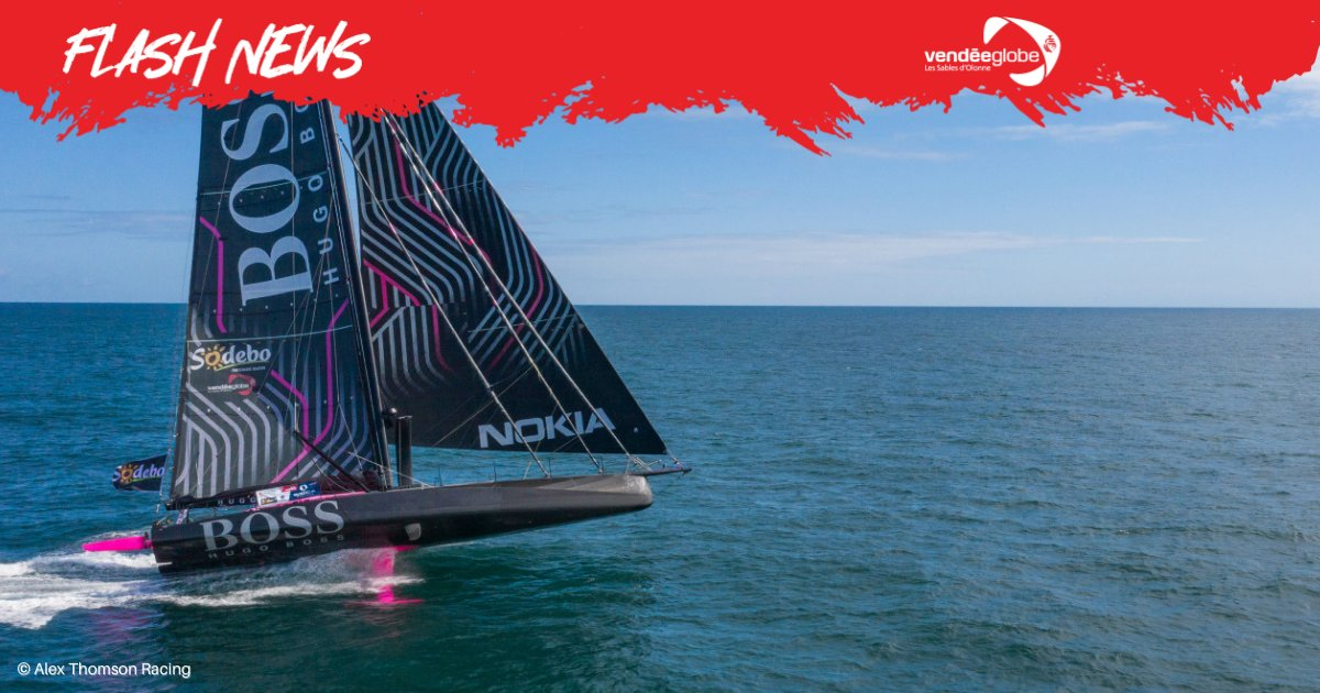 British skipper @ATRacing99 (HUGO BOSS) has arrived safely in Cape Town and officially retired from the race.   Read more here ➡️ https://t.co/ZdL2TzEHiX  #VG2020 https://t.co/LTblBqqvor