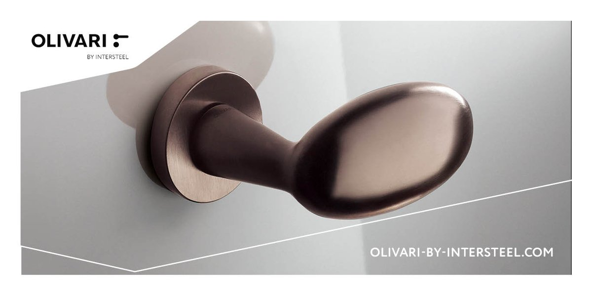 test Twitter Media - Graag laat Olivari by Intersteel je kennismaken met de finish brons mat titaan PVD. Geef je interieur een subtiele touch van luxe en elegantie met bronzen deurkrukken. Door een speciale PVD behandeling, is de finish van buitengewone kwaliteit. https://t.co/SjxMN1Quay